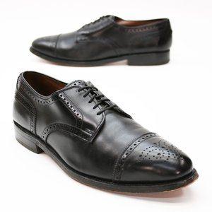 Allen Edmonds Men's 9.5 D Sanford Oxford Black